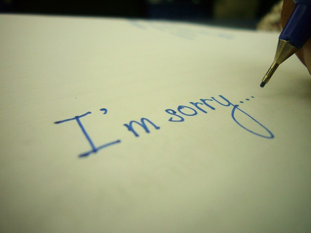 Как извиниться перед парнем
