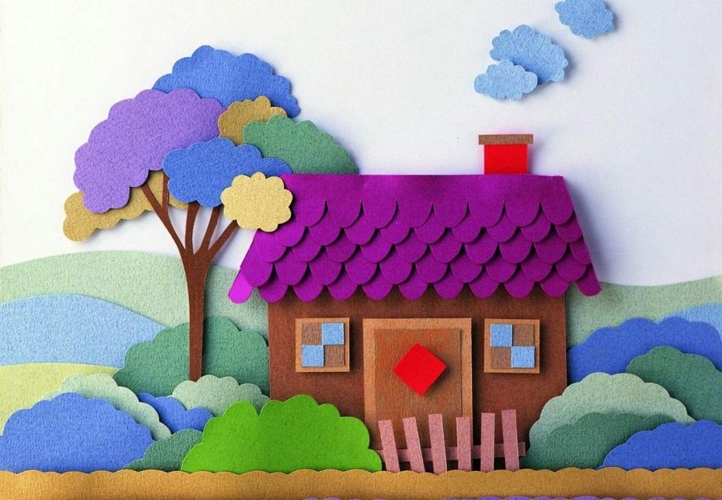 Поделка в детский сад из сосновых шишек