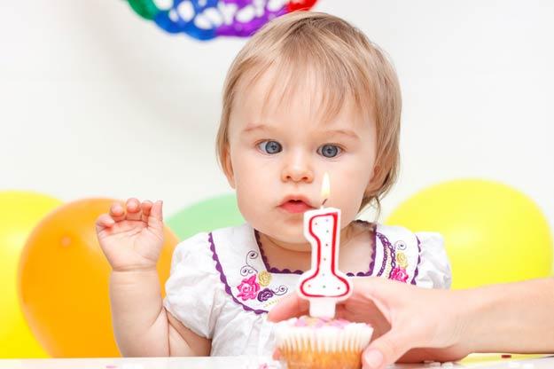 Baby-zwölfter-Monat