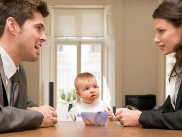 ребенок после развода родителей